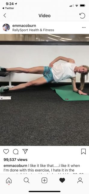 tough runner's planks