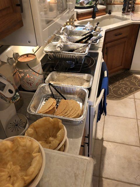 family buffet