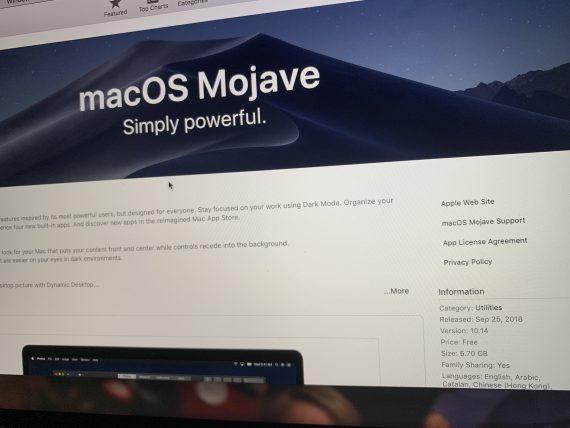 Mojave OS