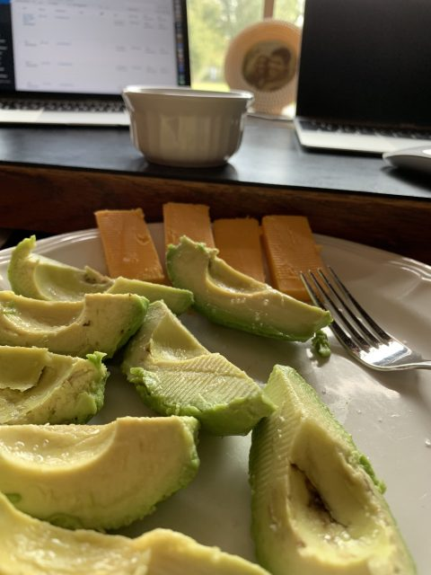 avocado lunch