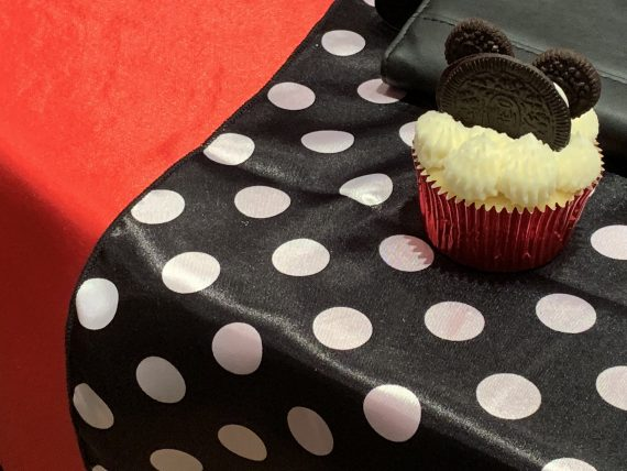 Mickey Mouse homemade cupcake