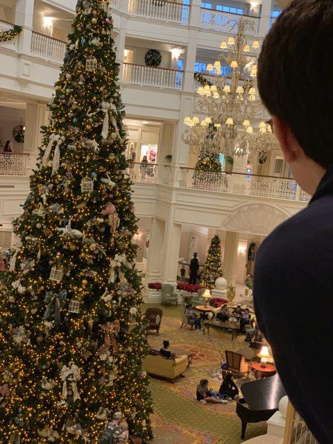 Disney's Grand Floridian Christmas Tree 2019