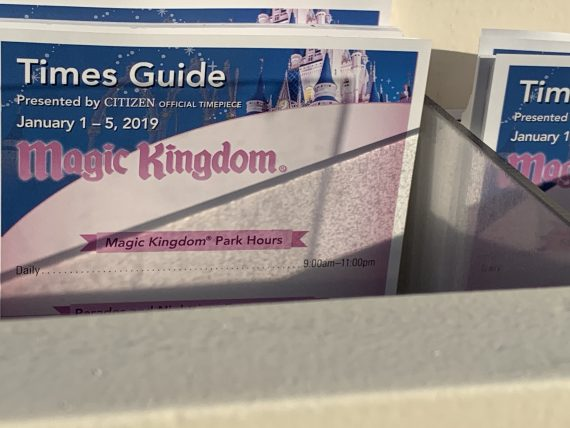Magic Kingdom entertainment guide