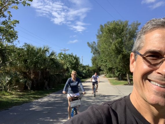 Biking on Sanibel Island
