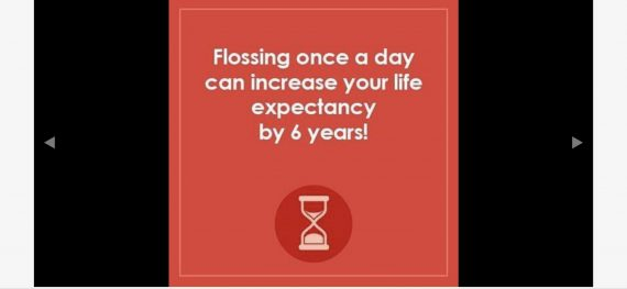 flossing message