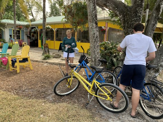 Biking on Sanibel Island