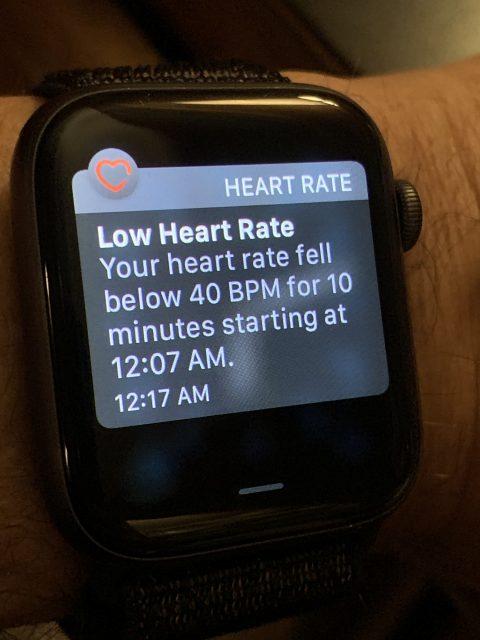 heart rate apple watch