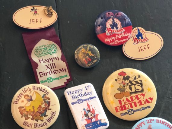 Disney Cast Member name tags