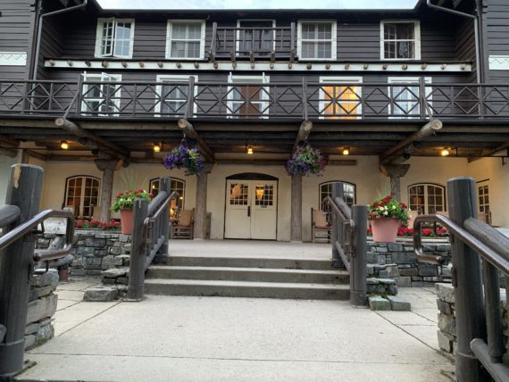 Lake McDonald Lodge in Glacier