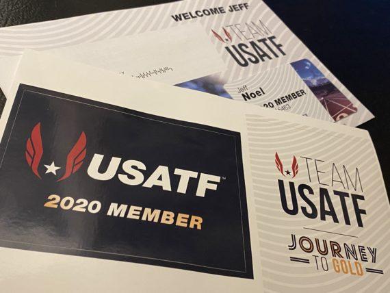USATF membership card