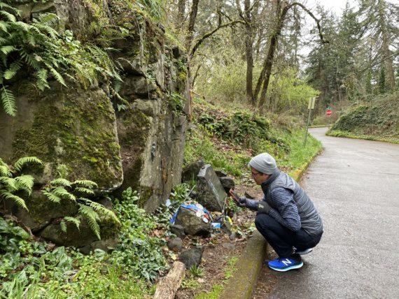 jeff noel at Pre's rock in Eugene, Oregon