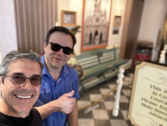 jeff noel and Jody Maberry at Disneyland