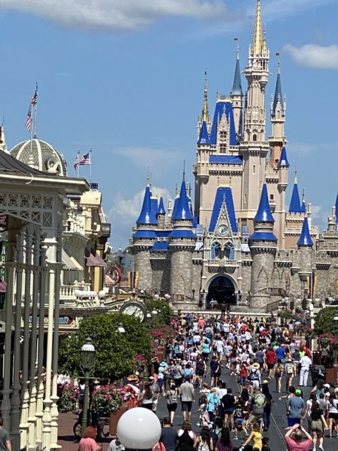 Main Street USA at Disney World