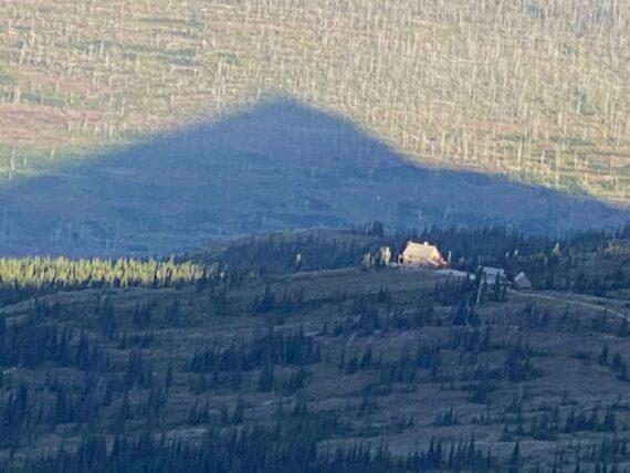High mountain chalet