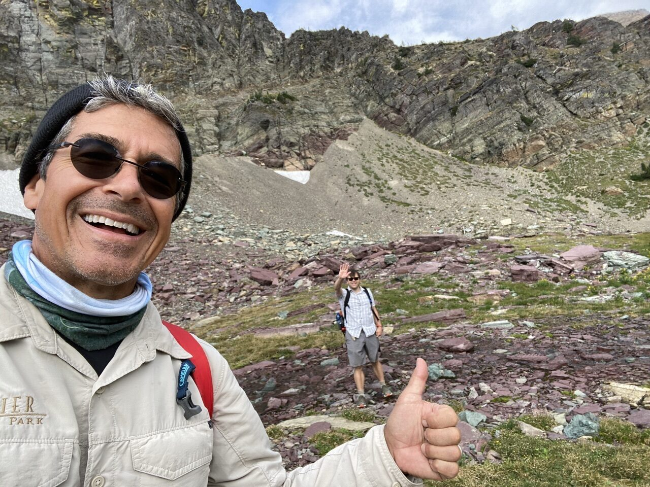 Jeff noel and Jody Maberry in the mountains
