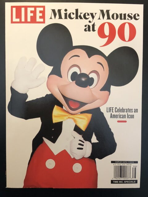 Mickey Mouse on the cover of Life magazine