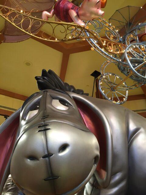Eeyore in a Disney store