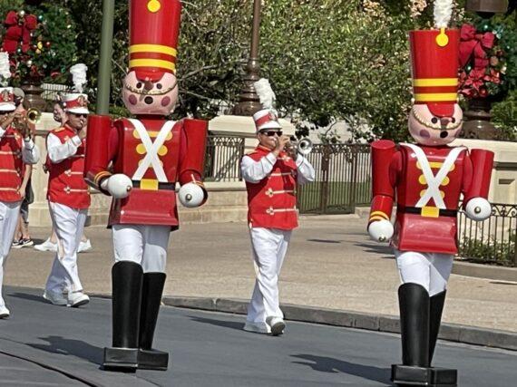 Disney toy soldier parade