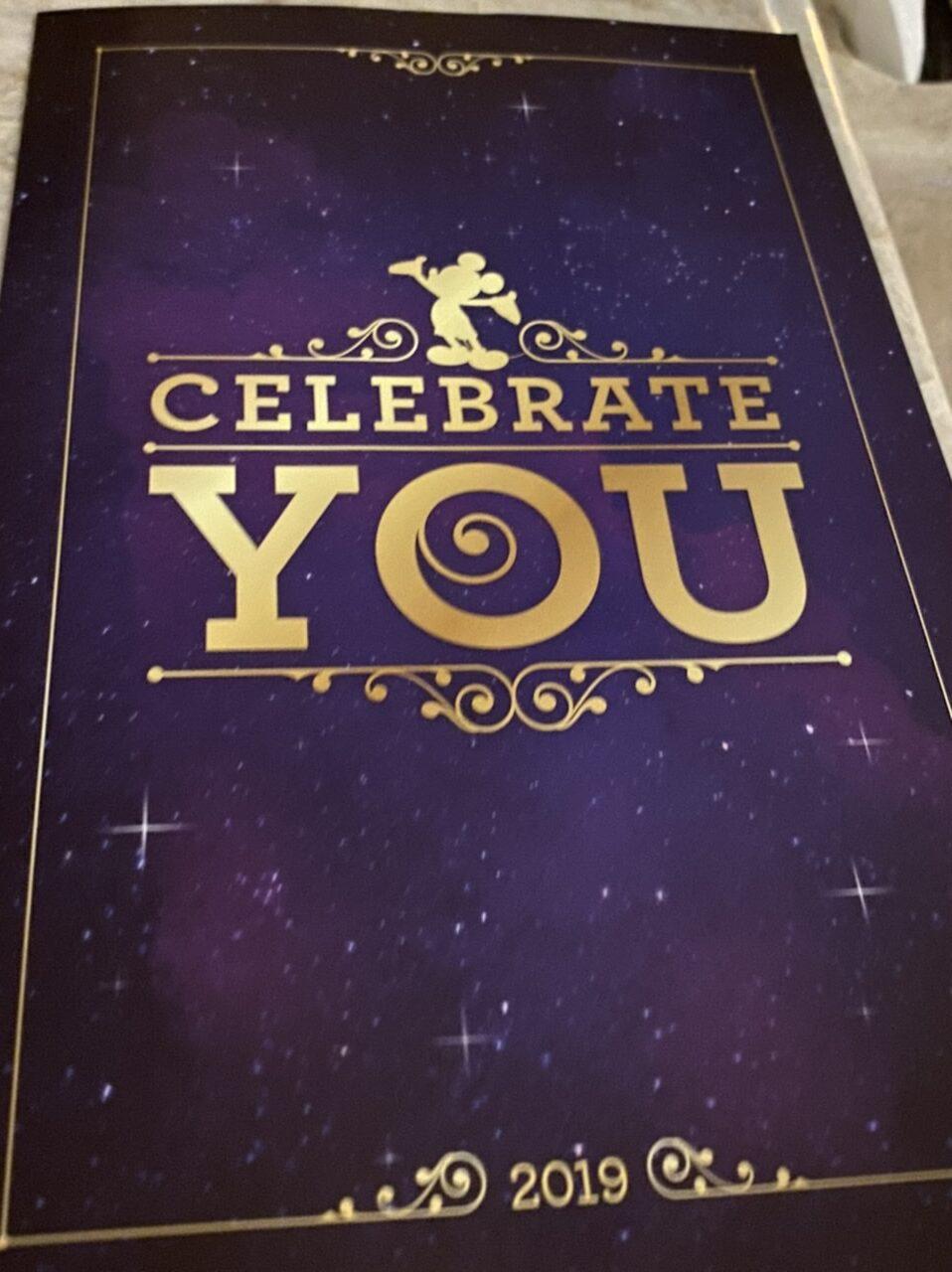 Disney Celebrate You card