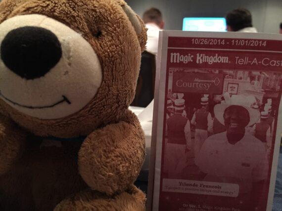 Disney Tell-A-Cast and Teddy Bear