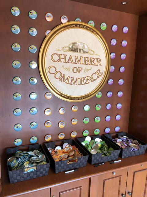 Walt Disney World Guest Buttons display
