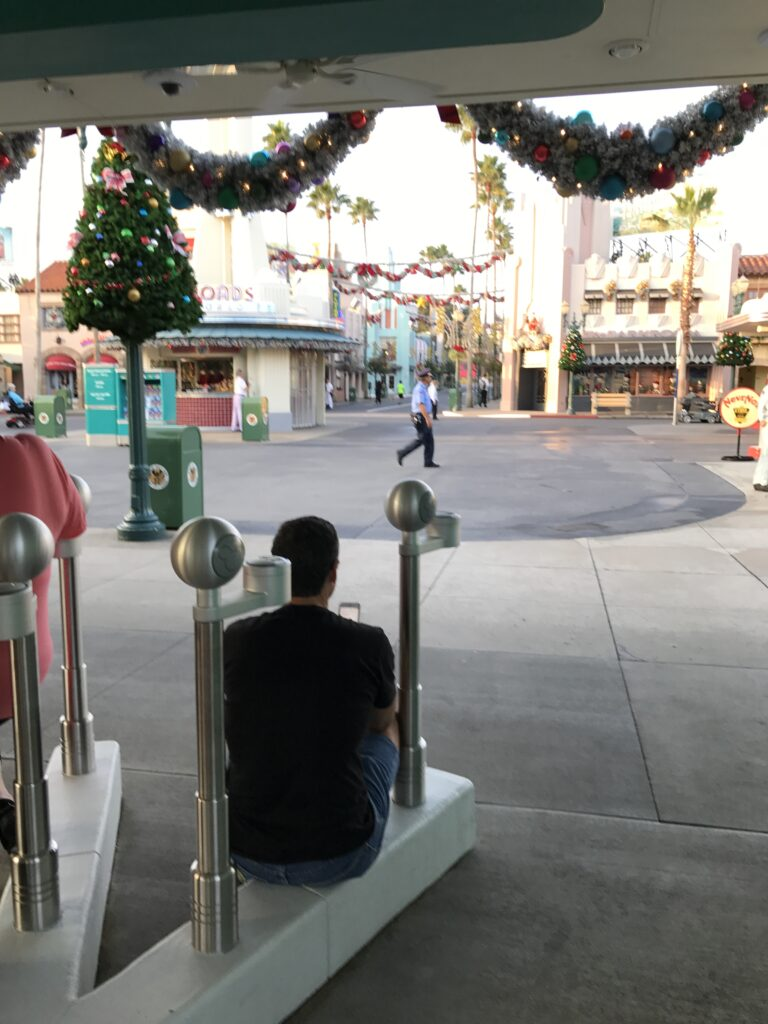 Disney's Hollywood Studios before park opening