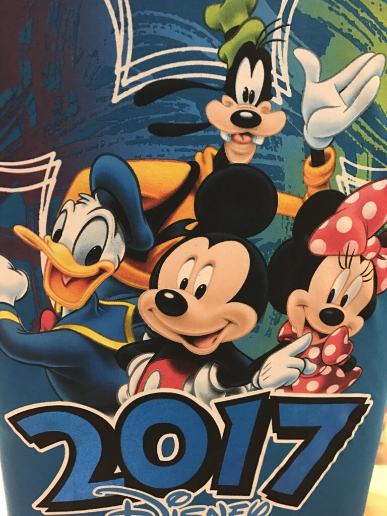 Disney 2017 image with characters