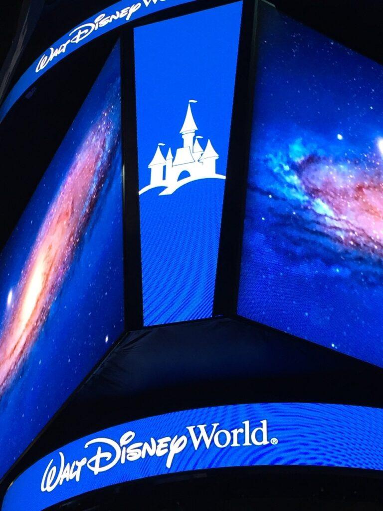 Walt Disney World jumbo iron image in arena