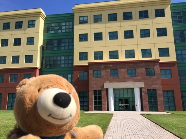 teddy bear at Disney office complex